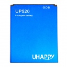 "Uhappy Rechargeable Replacement ""2200mAh"" 3.7V Li-polymer Battery for Uhappy up520"