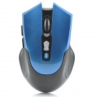 Bluetooth v3.0 Wireless 800-1600dpi Optical Mouse w/ 2-Side Buttons - Blue + Black (2 x AAA)