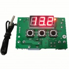 "HF 0.56"" LCD Digital Thermostat Temperature Controller - Green (24V)"