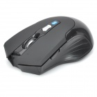 Bluetooth v3.0 Wireless 800-1600dpi Optical Mouse w/ 2-Side Buttons - Black (2 x AAA)