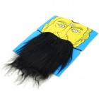 Costume Party Cosplay Artificial Funny Mustache - Black