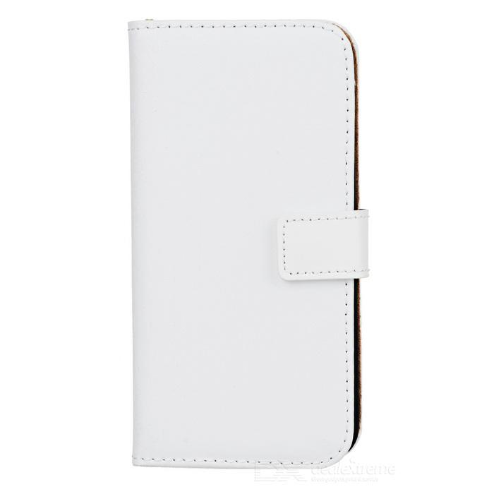 "WB-0916 Protective Split Sheepskin Case w/ Stand for IPHONE 6 4.7"" - White"