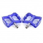 AEST YMPD-09T Lightweight Aluminum Magnesium Alloy Bicycle Bike Pedals - Blue (Pair)
