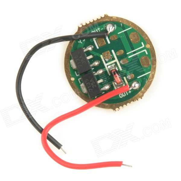 700mA 1-Mode 2 x 7135 / 1 x 4148 LED Driver Circuit Board for Flashlight - Green (3~5V)