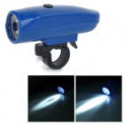 M9-2 Seat Post Mounted 3-Mode 50lm Cool White LED Plastic Bike Bicycle Light Lamp - Blue (AAA x 3)