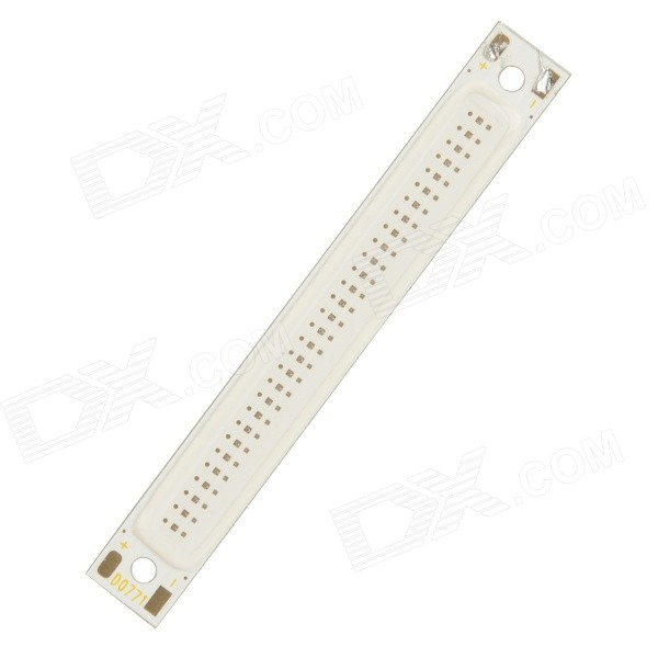 JRLED JRLED-3W-COB 3W 80lm 635nm 30-COB LED Red Light Module - White + Silver (2~2.5V)
