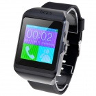 "CL-W216 Upro3 1.55"" TFT Capacitive Screen GSM Smart Watch Phone w/ Bluetooth / FM - Black"