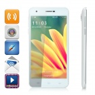 "M-HORSE S60 5.0"" Capacitive Quad-Core Android 4.4 Phone w/ 1GB RAM, 4GB ROM, Dual-SIM - White"