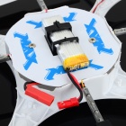 RUNQIA 2.4GHz 4-CH Outdoor 6-Axis R / C Quadcopter w / Svítilna / Gyroskop - White (6 x AA)