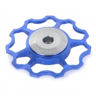 AEST YPU09A-14 Bike Bicycle Ultra Light 6-Axle 11T Ceramic Wheels Rear Derailleur Pulley - Blue