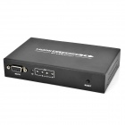 LKV374 1 In 4 Out HDMI Network Extender w/ RS232 / RJ45 - Black