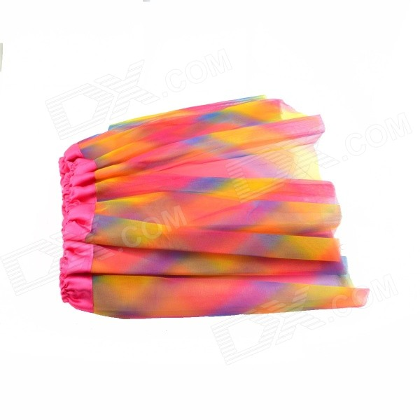 Chiffon Colorful Skirt for Halloween