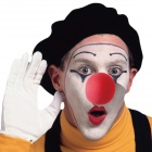 Halloween Costumes Clown Dressed Up Acting Cute Nose - Red