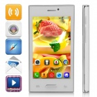 "Z9005+ MTK6572 Dual-Core Android 4.4.2 WCDMA Bar Phone w/ 4.0"", 2GB ROM, GPS, FM - White"