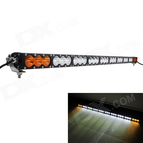 MZ 55.5 300W 24000LM White + Yellow Light LED Worklight Bar Offroad 4WD SUV Driving Lamp w/ XM-L U2 система освещения led light bar for philips 42 240w offroad philips 12v 24v atv 4 x 4 suv