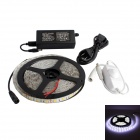 GC 72W 3500lm 6500K 300-SMD 5050 LED White Light Strip w/ Dimmer - White (5M / DC 12V)