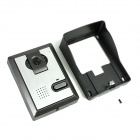 "XYY-V70F-L TFT de 7 ""Telefone video da porta w / Alloy intempéries Capa e Night Vision Camera - Branco"
