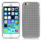 "Hat-Prince Protective TPU Back Case w/ Anti-dust Plug for IPHONE 6 4.7"" - Grey"