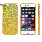 "Stunning Flashing Paillette Decorated Plastic Back Case for IPHONE 6 4.7"" - Golden"