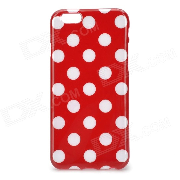 Dots Pattern Silicone Back Case for IPHONE 6 4.7