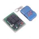 ZnDiy-BRY DC 12V 4-CH Learning Code Remote Control Switch Kit
