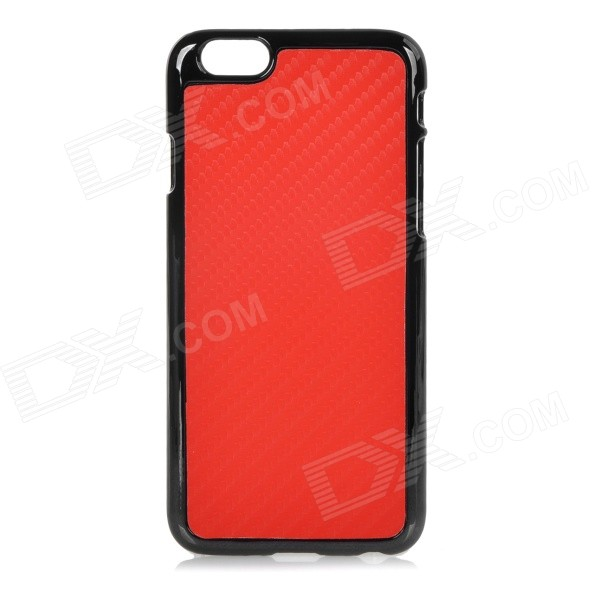 Protective Plastic Back Case Cover for IPHONE 6 4.7 - Red nillkin protective matte plastic back case w screen protector for iphone 6 4 7 golden