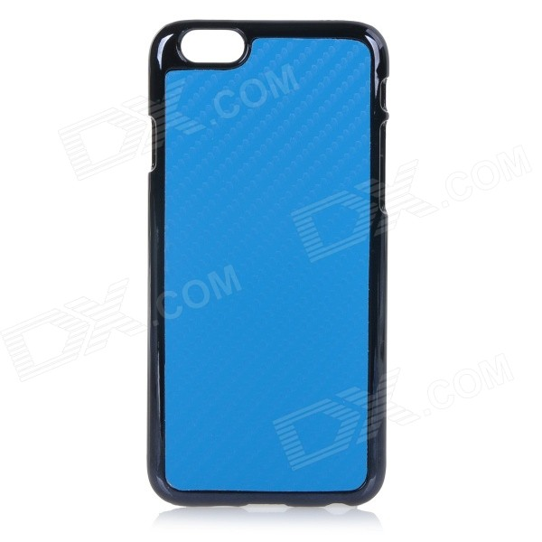Protective Plastic Back Case Cover for IPHONE 6 4.7 - Blue one piece 1x brand new high quality silicon protective skin case cover for xbox 360 remote controller blue green mix color