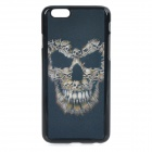 "3D Skull Patterned Protective Back Case Cover for IPHONE 6 4.7"" - Black"