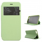 "Ultra-thin Flip-open Case w/ Stand / Display Window for IPHONE 6 PLUS 5.5"" - Green"