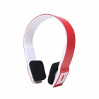 2.4G Wireless Bluetooth V3.0 EDR Stereo Headset Headphone w/ Mic for IPHONE / IPAD + More - Pink