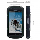 "V8 Water Resistant MTK6572 Dual-Core Android 4.2 WCDMA Smartphone w/ 4.0"", GPS, WiFi, Bluetooth, FM"
