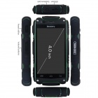 "V8 Vanntett MTK6572 tokjerners Android 4,2 WCDMA Smartphone med 4.0"", GPS, WiFi, Bluetooth, FM"