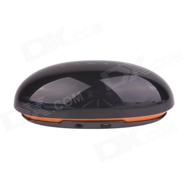 TOZ A5 Beetle Style Dual-Mode Bluetooth V4.0 Multimedia Speaker w/ Micro USB - Black + Orange 1more super bass headphones black and red