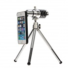 High Definition HD 12X Lens Telescope Camera w/ Telescopic Tripod for IPHONE 5 / 5S / 5C