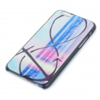 "Seaside Patterned Protective Plastic Back Case Cover for IPHONE 6 4.7"" - Black + Multi-colored"