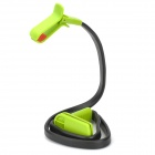 Universal Lazier's Free Adjustment Desktop / Handheld / On-Neck Mount Holder for Cell Phone - Green