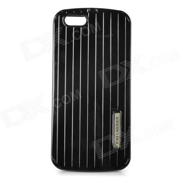 Creative Suitcase Style Protective PC Back Case Cover for IPHONE 6 4.7 - Black