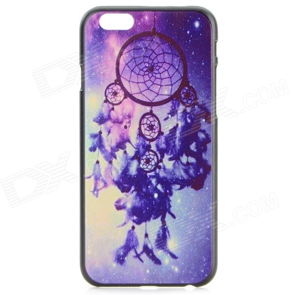 "Dream Capture Bell Pattern Protective Plastic Back Case for IPHONE 6 4.7"" - Black + Purple"