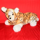 Halloween Tiger Style Cotton Coat for Pet Cat / Dog - Yellow + White (Size L)