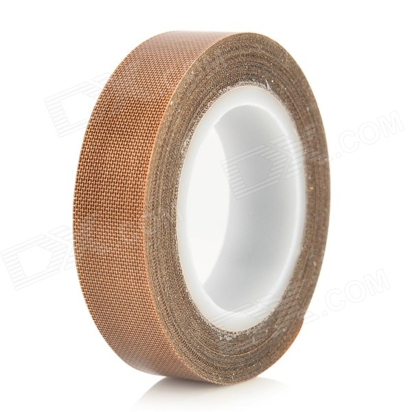 Heat Insulation Teflon Adhesive Tape for Sealing / Vacuum Machine - Deep Brown + White (10m) маска для сноуборда head galactic green