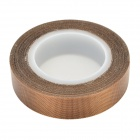 Heat Insulation Teflon Adhesive Tape for Sealing / Vacuum Machine - Deep Brown + White (10m)