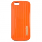 "Luggage Pattern Protective PC Back Case for IPHONE 6 4.7"" - Orange + Black"
