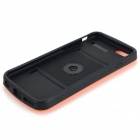 "Bagagem Pattern Protective PC Back Case para iPhone 6 4.7 ""- laranja + preto"