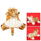 Halloween Tiger Style Cotton Coat for Pet Cat / Dog - Yellow + White (Size M)