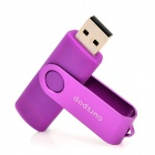 Ourspop SJ-20 Rotary USB 2.0 / Micro USB Flash Drive - Purple (32GB)