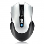 Bluetooth v3.0 Wireless Optical 800~1600dpi Mouse w/ 2-Side Buttons - Silver + Black (2 x AAA)