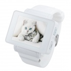 "i5s Multi-Function 1.8"" TFT Screen GSM Smart Watch Phone w/ FM, Bluetooth, TF - White"