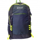 Kade S19 Outdoor Sports Cycling Nylon Shoulders Bag Backpack - Black + Yellow (40L)