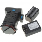 6500K Professional Video Light for Camcorder with 4200mAh Rechargeable Li-ion Battery Pack