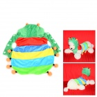 Halloween Colorful Caterpillar Style Cotton Coat for Pet Cat / Dog - Yellow + Light Blue (S)